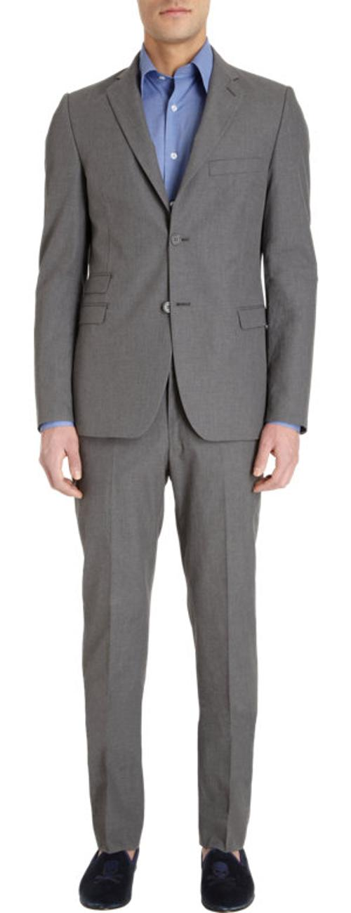 Two-Button Suit Jacket by BARNEYS NEW YORK in Transcendence