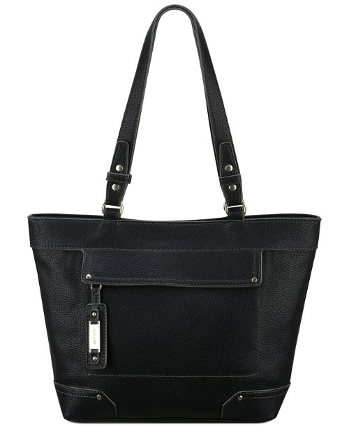 Hidden Zipper Small Tote Handbag by Nine West in American Sniper