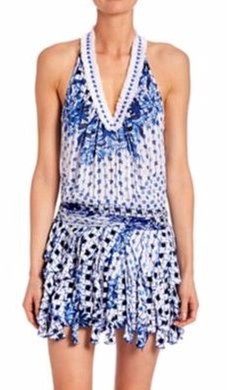 Beline Printed Dress by Poupette St Barth  in The Bachelorette
