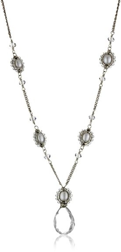 Victorian-Inspired With Beautiful Quartz Drop Necklace by Dana Kellin in Fifty Shades of Grey