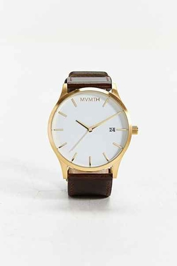 Leather Analog Watch by MVMT in The Big Bang Theory