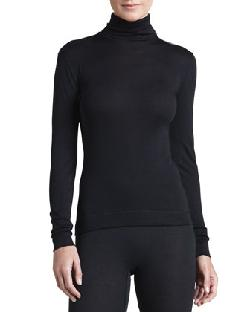 Silk-Cashmere Turtleneck and Long Leggings by Hanro in Vampire Academy