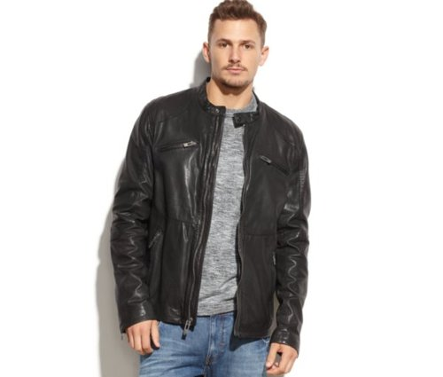 Leather Jacket by Rogue State in If I Stay