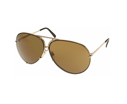 Aviator Sunglasses by Porsche Design in New Girl - Season 5 Episode 17