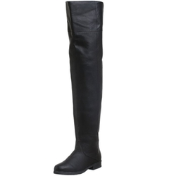 Maverick Thigh Boots by Pleaser in The Hateful Eight
