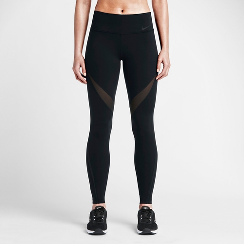 Legendary Fabric Twist Veneer Leggings by Nike in Keeping Up With The Kardashians - Season 12 Episode 7