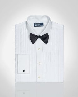 Custom-Fit Narrow-Pleat Regent Dress Shirt by Ralph Lauren in The Age of Adaline
