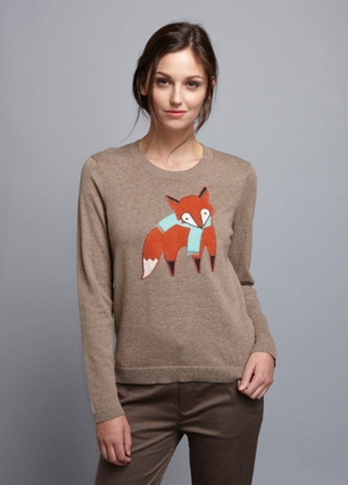 Too Foxy Sweater by Brooklyn Industries in Unbreakable Kimmy Schmidt - Season 2 Episode 13