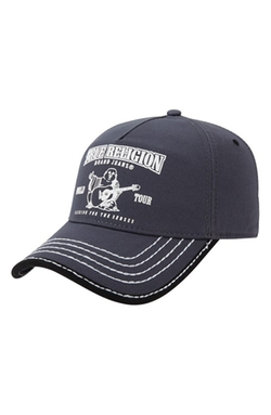 'Puff Buddha' Ball Cap by True Religion Brand Jeans in Christmas Vacation