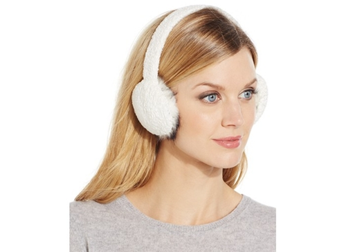 Chenille Earmuffs by Charter Club in Scream Queens - Season 1 Episode 3