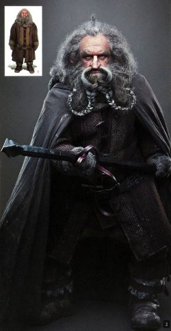 Custom Made Oin's Costume by Ann Maskrey & Bob Buck (Costume Designer) in The Hobbit: The Battle of The Five Armies