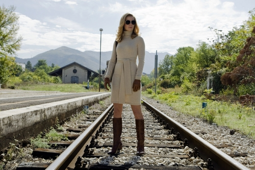 Wool Short Dress by Malo in The American