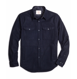 Wool Shirt Jacket by Brooks Brothers in The Big Bang Theory
