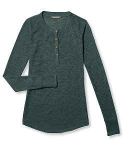Signature Women's Waffle Henley Shirt by L.L.Bean in If I Stay