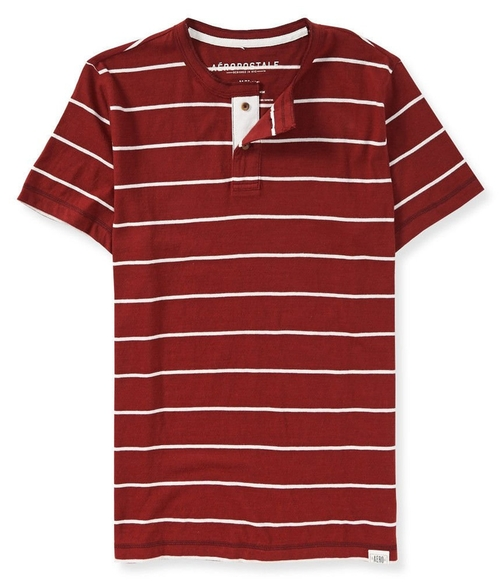 Striped Henley Shirt by Aeropostale in We Are Your Friends