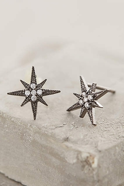 Compass Rose Posts Earrings by Anthropologie in Arrow
