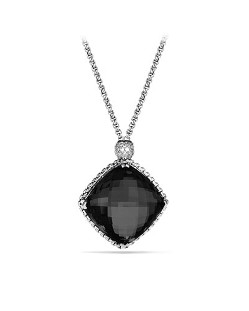 Point Pendant Black Onyx Necklace by David Yurman in The Transporter: Refueled