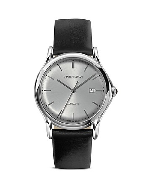 Swiss Made Stainless Steel Watch by Emporio Armani in Blackhat