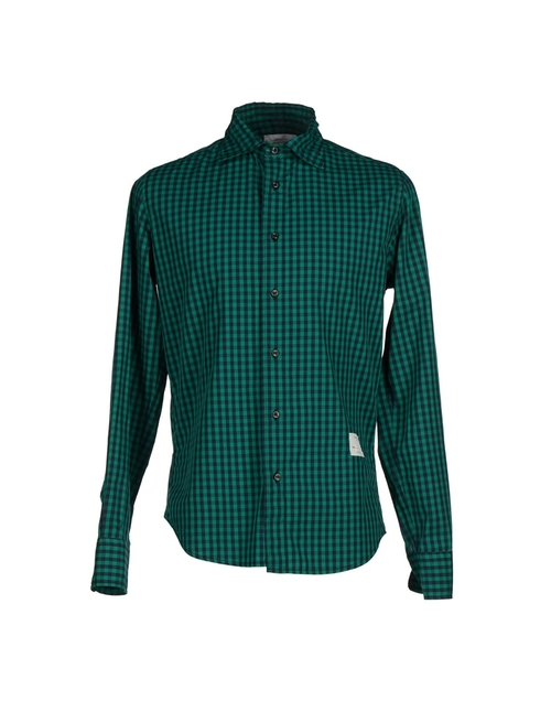 Checked Long Sleeve Shirt by The Editor in The Choice