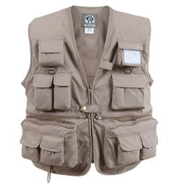 Uncle Milty Travel Vest by Rothco in The Hunger Games: Mockingjay Part 1