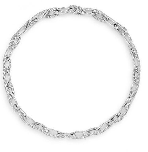 Pavé Link Collar Necklace by Adriana Orsini in The Living Daylights