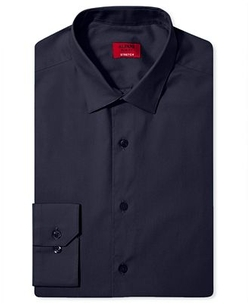 Spectrum Slim-Fit Solid Dress Shirt by Alfani in The Flash