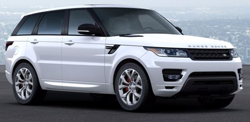 Range Rover Sport Autobiography SUV by Land Rover in Ballers - Season 1 Episode 8