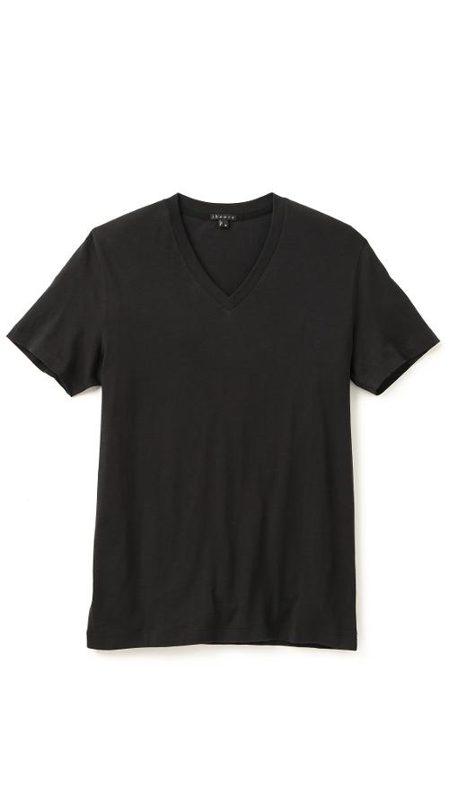 Koree V-Neck T-Shirt by Theory in No Strings Attached