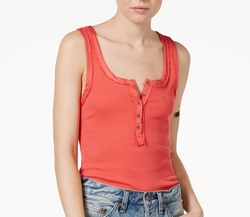 Time Out Henley Tank Top by Free People  in Mistresses