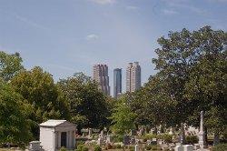 Atlanta, Georgia by Oakland Cemetery in Furious 7