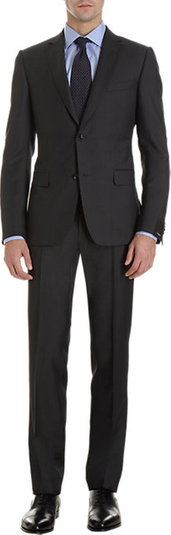 Notched Collar Two-Piece Suit by Z Zegna in Steve Jobs