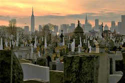 New York City, New York by Calvary Cemetery in John Wick