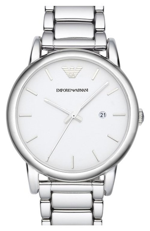 Round Bracelet Watch by Emporio Armani in Begin Again