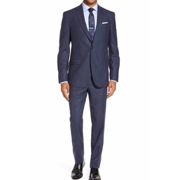 Jay Trim Fit Plaid Wool & Cashmere Suit by Ted Baker London in The Good Place