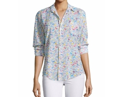 Barry Long-Sleeve Voile Shirt by Frank & Eileen in Keeping Up with the Joneses