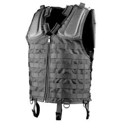 Tactical Vest with Front and Back MOLLE System by Galls in The Expendables 3