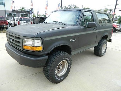 1993 Bronco Eddie Bauer 4WD by Ford in Contraband