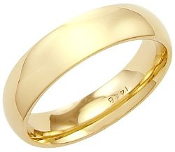 Comfort Wedding Band Ring by Sonia Jewels in John Wick