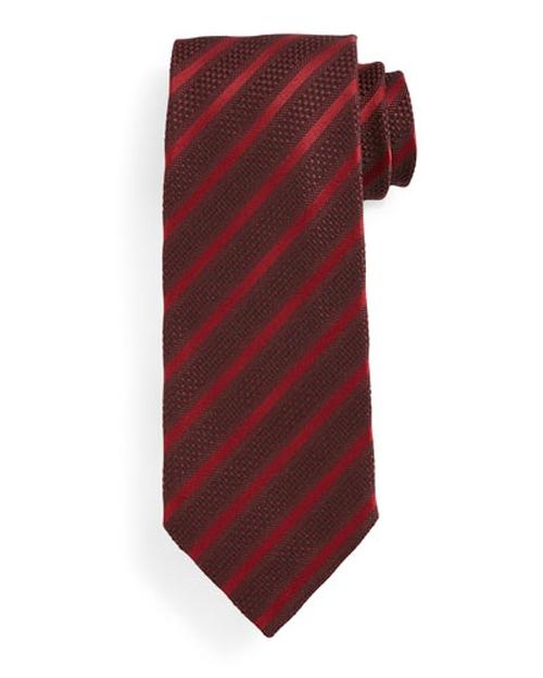 Diagonal-Striped Tie by Tom Ford in The Big Lebowski