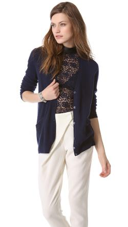 Sullivan Cashmere Cardigan by Equipment in Laggies