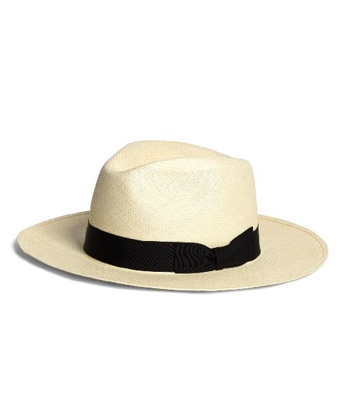 Wide Brim Panama Hat by Brooks Brothers in The Great Gatsby