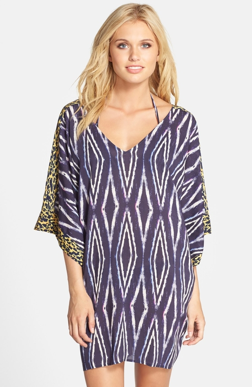 'Moorish Giovana' Cover-Up Caftan by Vix Swimwear in Sex and the City