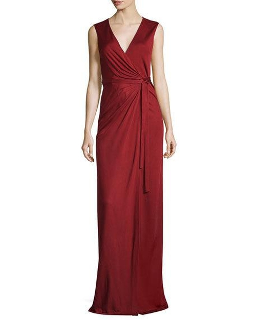 Taley Sleeveless Maxi Wrap Dress by Diane von Furstenberg  in Marvel's Luke Cage - Season 1 Episode 4