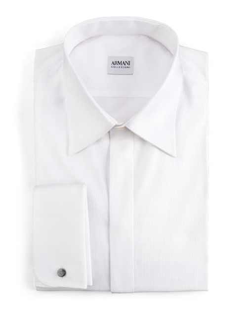 Basic Formal Shirt by Armani Collezioni in Life