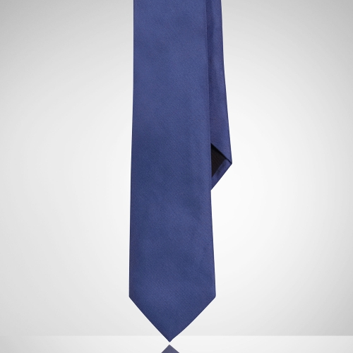 Solid Peau De Soie Tie by Ralph Lauren in Self/Less