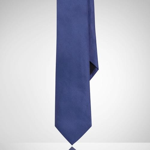 Solid Peau De Soie Tie by Ralph Lauren in Self/Less