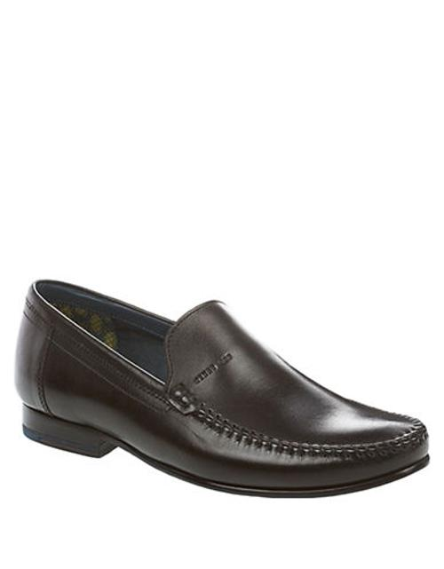 Simeen 2 Leather Moccasins by Ted Baker in The Wolverine