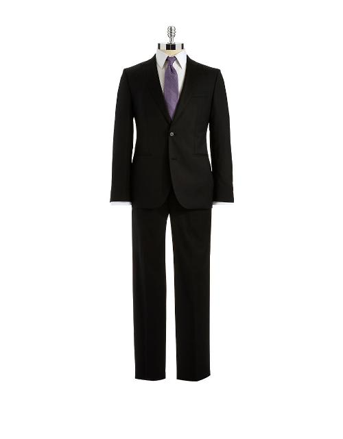 Slim Fit Jefford Lenon Suit Set by HUGO BOSS in Million Dollar Arm