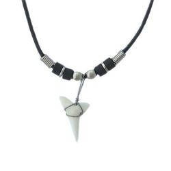 Hawaiian Shark Tooth Necklace by Zero Gravity Hawaii in Wet Hot American Summer