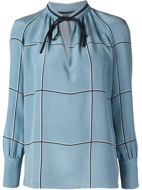 Tied Neck Blouse by Derek Lam in Scandal - Season 5 Episode 4